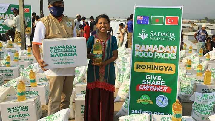 Rohingya - Ramadan Food Packs