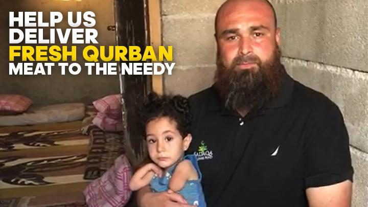 Help us Deliver FRESH QURBAN Meat to the Needy