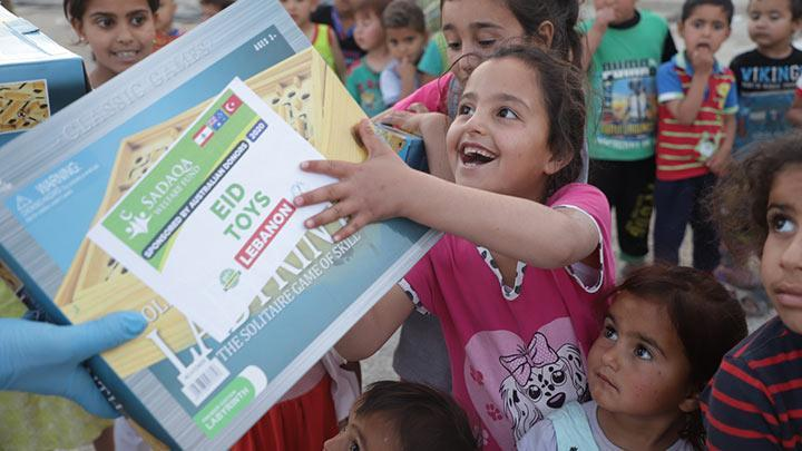 Eid Toys Distribution - Lebanon